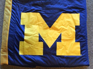 Selling A Singular Item: University of Michigan Twin Comforter