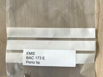 Gebruikte apparatuur: EMS compatible paro tips