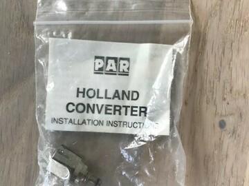 Gebruikte apparatuur: Holland converter voor Pro Tip