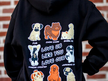 Selling: Pullover Hoodie - LULYLO Dogs