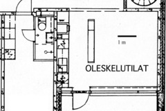 Annetaan vuokralle: A single-room apartment-JMT1 B Otaniemi