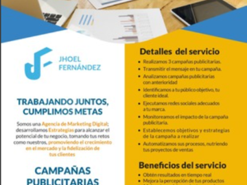 Servicio freelance: Campañas publicitarias