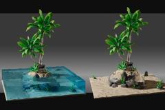 For Sale: Stylized Desert Island