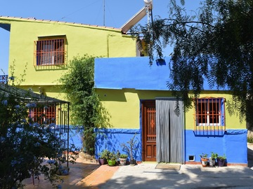 Accommodation: Near to Chulilla , vegetarian b&b