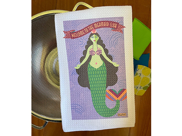 Selling with online payment: Mermaid Club Kitchen Towel