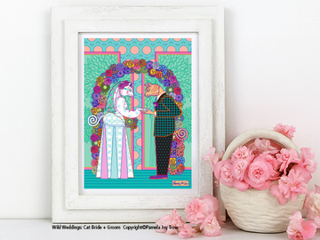 Selling with online payment: Animal Wedding Prints, Straight, Gay, Bi