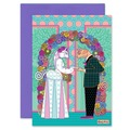 Selling with online payment: Animal Weddings Cards, Straight, Gay, Bi