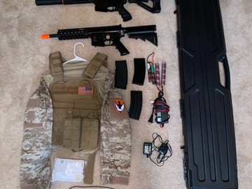 Selling: Airsoft Guns and gear