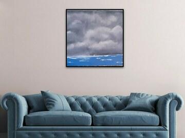 Sell Artworks: Stormy Ocean