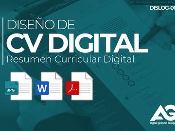 Servicio freelance: Diseño de CV Digital (Resumen Curricular Digital)