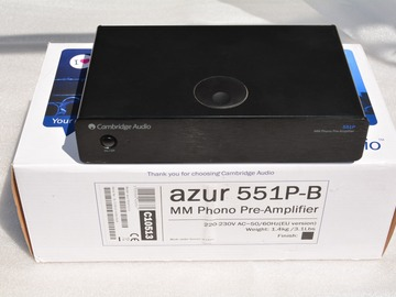 Vente: Cambridge Azur 551-P , pré ampli phono