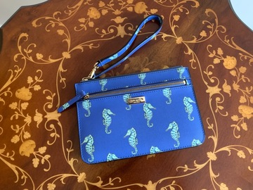 Selling without online payment: Kate Spade Seahorse Wristlet/Clutch/Wallet