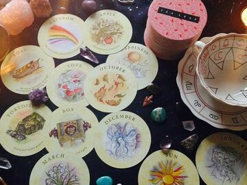Selling: TEA LEAF ORACLE CARD READING ON ANY TOPIC