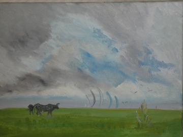 Sell Artworks: Vaches marines