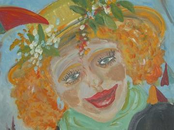 Sell Artworks: La rouquine du Carnaval de Dunkerque