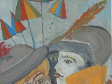 Sell Artworks: Les jeunes aux cirés jaunes