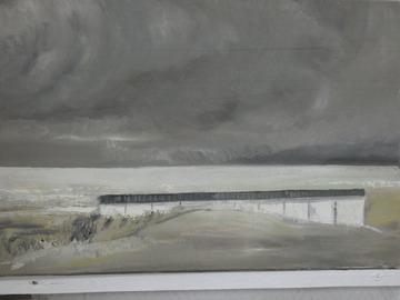 Sell Artworks: Ciel de neige , sur la mer du <nord