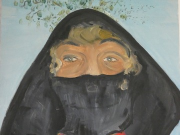 Sell Artworks: Annie la Flamande , en covid protection
