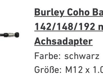 Verkaufen: Steckachse für Burley Coho XC Ballz M12x1.0 142-148
