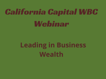 Announcement: Leading in Business Wealth