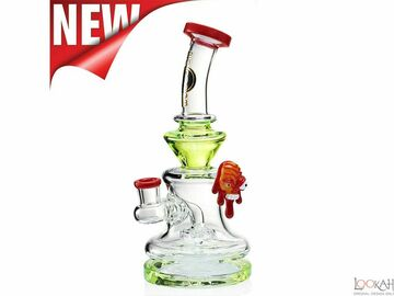 Post Now: Big Mom Glass Water Pipe With Melting Face