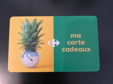 Vente: Carte cadeau Carrefour (200€)