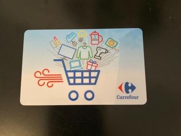 Vente: Carte cadeau Carrefour (99,99€)