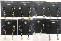 Liquidation/Wholesale Lot: 50 pair Katheryn Kent Leverback Earrings-  Priced $29.00 Pair