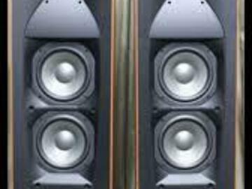 Demande: Cherche JBL Studio 590