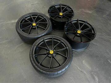"Selling: 2020 Ferrari F8 Tributo OEM Black 20"" Wheels"