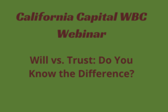 Announcement: Will vs. Trust: Do You Know the Difference?
