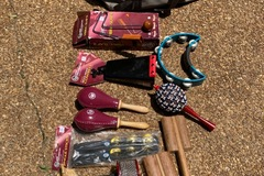 SOLD!: SOLD! Bag of popular Percussion Instruments by LP, Meinl, Etc.
