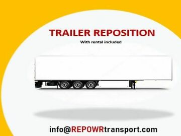Repositioning with Rental Opportunity: REPOSITIONING: 2013 Great Dane Dry Van Trailer