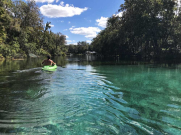 Daily Rentals: Dunnellon FL, Rainbow River Parking Perfect For Kayakers & Tubers