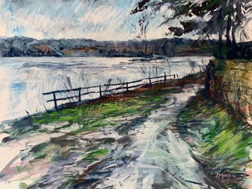 Sell Artworks: Puddled Path