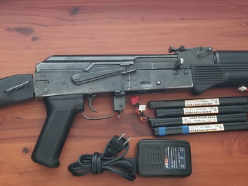 Selling: E&L AK104 with mags