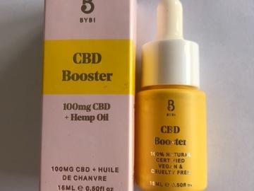 Venta: CBD booster en aceite para el rostro de Bybi beauty