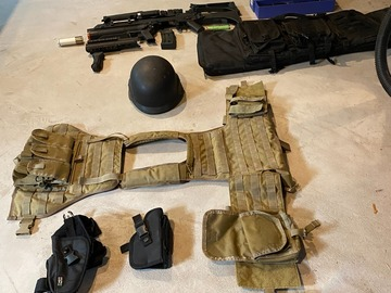 Selling: Selling Collection and Gear (AG36k and vest main draw)