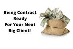 Announcement: Being Contract-Ready For Your Next Big Client