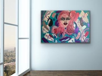 Sell Artworks: Red Diamond