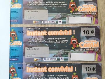 Vente: Chèq'Kdo Cantal (40€)