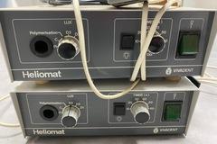 Gebruikte apparatuur: VIVADENT HELIOMAT