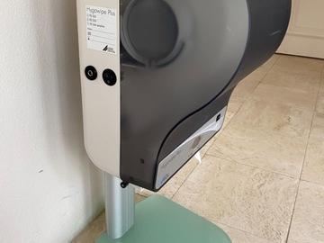 Gebruikte apparatuur: DÜRR DENTAL Hygowipe Plus Staand