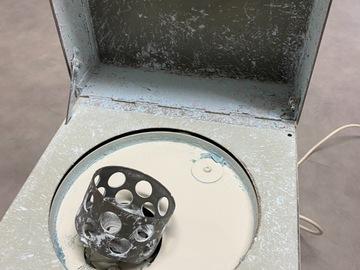Gebruikte apparatuur: Oude Hauschild&Co mixer