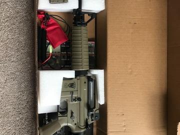 Selling: Matrix AIM Lipoly Ready 8mm Gearbox M4 Carbine Airsoft AEG