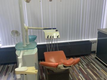 Gebruikte apparatuur: Unit behandelstoel
