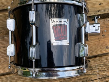 """Selling with online payment: Ludwig Rocker 10"""" tom  free shipping"""