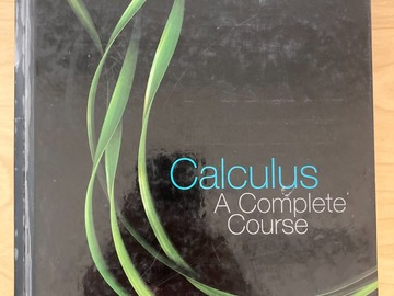 Selling: Adams: Calculus - A Complete Course, Sixth Edition