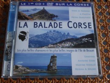 "Vente: CD + DVD ""La balade Corse"" - SONY / BMG"