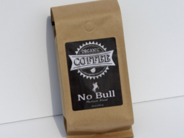 Selling Without Online Payment: 12oz Organic Coffee | No Bull (Medium Roast)